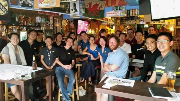 Sunday Assembly Singapore launch photo small