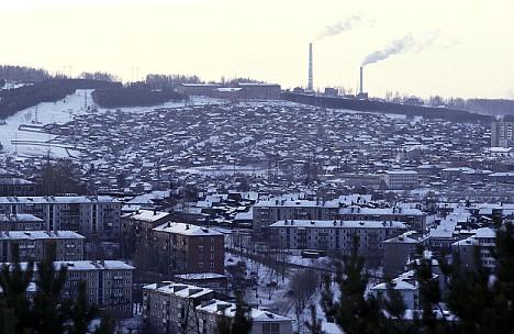 Suburbs of Irkutsk
