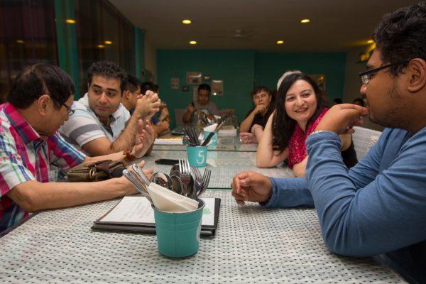 summer social dinner photo
