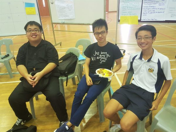 Unconference with student
