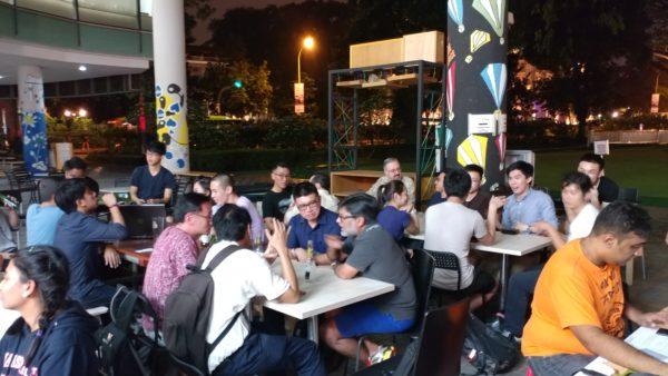 Humanist Cafe 2017 April at SMOObar @ SMU